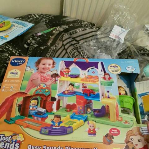 Brand new Toot-Toot and friends playset £45