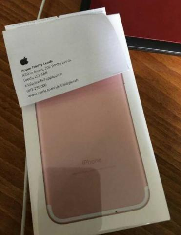 NEW iphone 7 rose gold