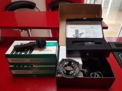 Audio-Technica AT4040 Cardiod Condenser Microphone + 2 Shure BG Microphones (to sweeten the deal)
