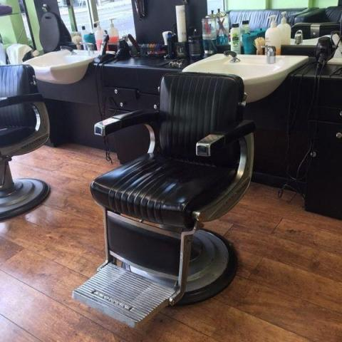 Belmont barber chairs