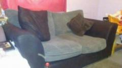 Black and Grey two seater