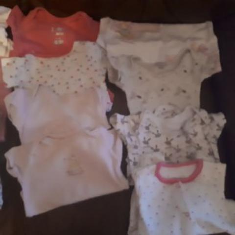 0-3months baby girl clothes