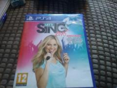 ps4 let sing  star game