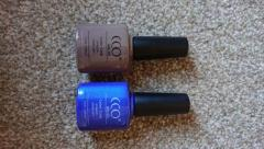 Gel nail varnish