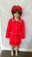 girls thick wool jacket and skirt few sizes available