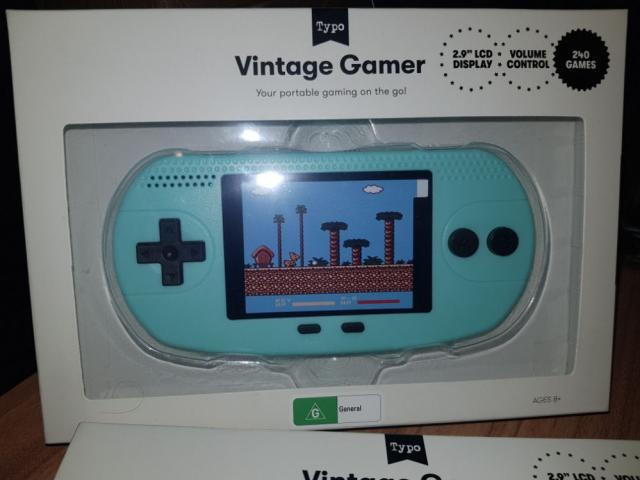 New retro kids gamer
