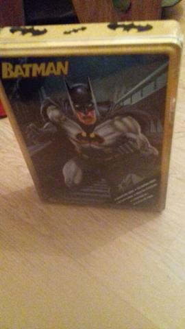 brand new batman tin with contents