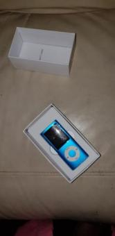 Blue mp3 player never been used