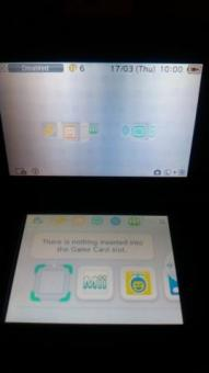 Nintendo 3ds black excellent condition and 9 games