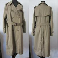 vintage burberrys of london chelsea trench coat