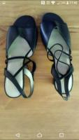Lady's Navy Blue Sandals