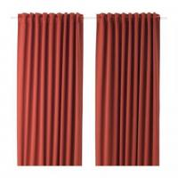 Ikea Majgull Block Out Curtains 1 pair Orange