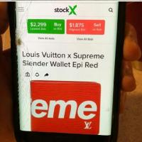Louis Vuitton supreme wallet