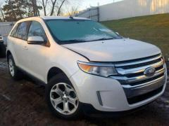 ford edge front end damage
