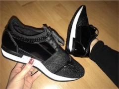 Black Sparkly Runners