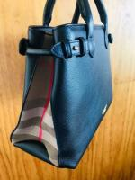 Burberry banner bag. black colour. authenticity guaranteed.receipt available