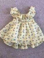 Monsoon baby's dress age 3/6 months