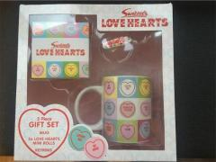 Swizzles Love Heart Gift Set