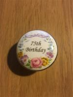 Fine Bone China Pillbox