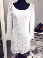 Topshop lace dress size 9