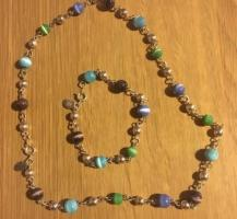 Costume Jewellery Necklace & Bracelet Set (postage available)