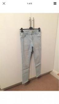 Denim Co. Light Wash Skinny Jeans UK12 W32 L28