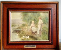 a set of paintings reproduction decoration