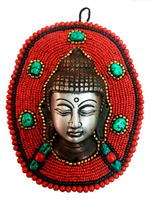 Buddha Head beads Wall Hanging Home decoration