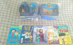 2 x Emoji Movie Lunch Bag and 5 free books