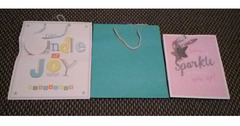 3 x Gift bags