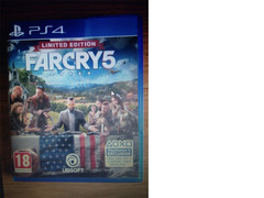 Far cry 5 PS4 game 2018