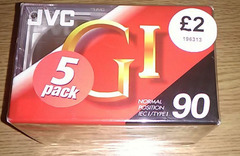 JVC Audio Cassette Tapes