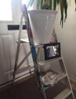 Shabby chic step ladder