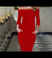 Brand new gorgeous ladies red dress uk 14
