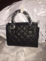 Black bag with chain JustFab