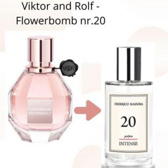 Victor & Rolf-Flowerbomb inspired perfume