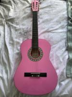 Martin smith pink children's guitar