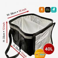 Uber Eats delivery bag fully insulated 40L