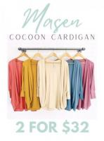 Cardigan special offer 2 for $32