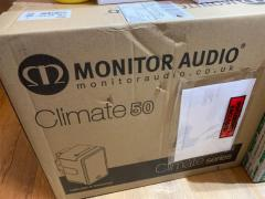 Brand New Monitor Audio Climate 50 (outdoor) Speakers In White