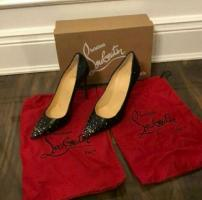 NIB AUTHENTIC LOUBOUTIN DEGRASTRASS NAPPA SHINNY