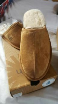 Men's genuine ugg slippers any size