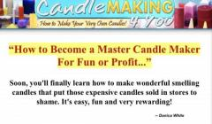 Work from home making candles ????