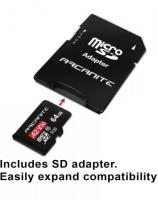 Arcanite 64GB Micro SD XC Memory Card with an adapter