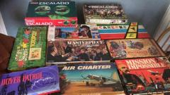 Collection of vintage board games 50's, 60's 70's etc