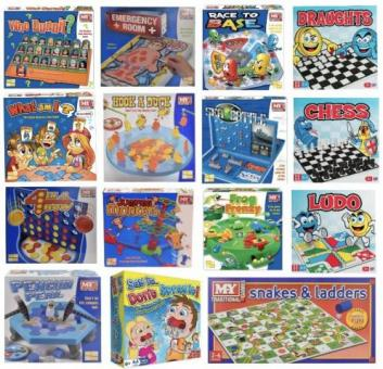 Board games at bargain prices