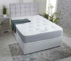 Brand new high quality Single double small double king size divan bed with mattress Free cash on del