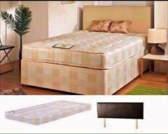 Free Same Day Cash on delivery Brand new Single Double King size Divan bed and mattress Headboard