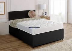 High quality Brand new Single Double small double king size divan or leather bed and mattress