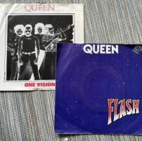 Queen 7 inch records x2